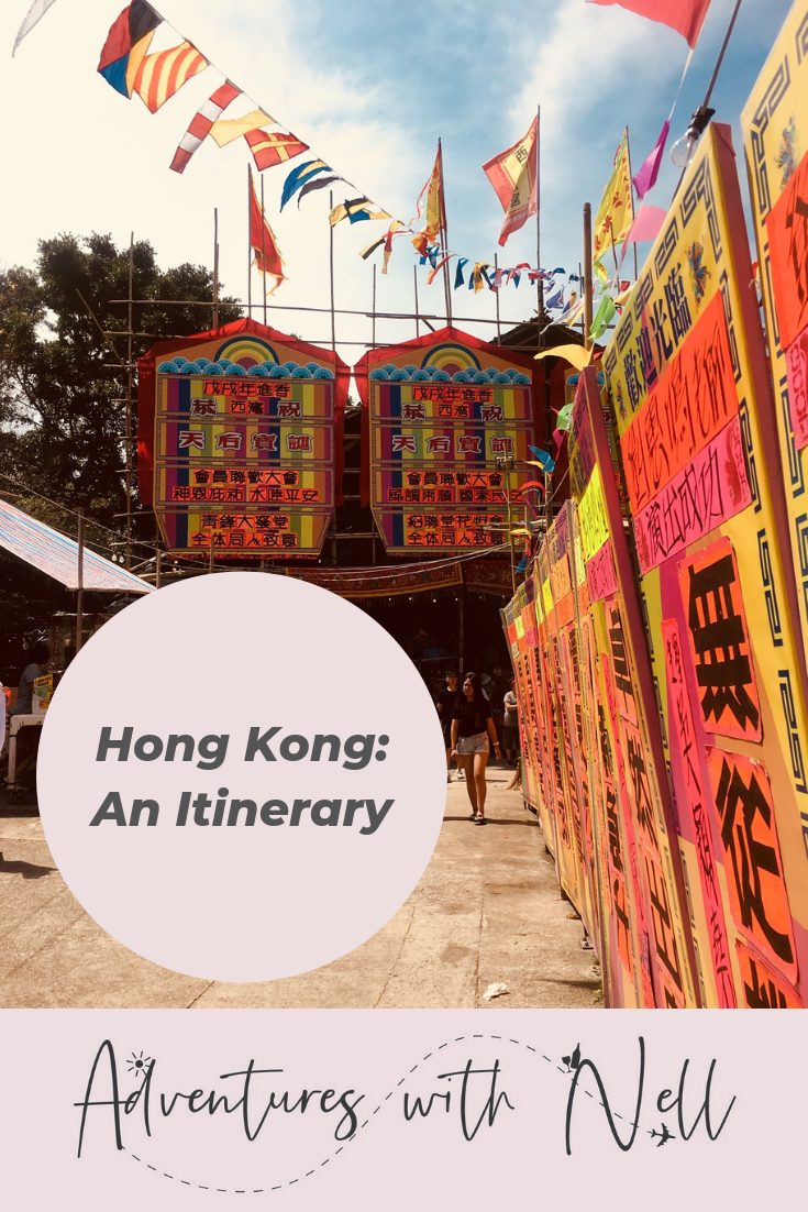 Pinterest Graphic: things to do in Hong Kong