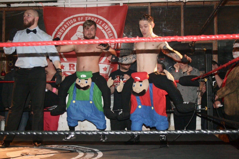 Rise wrestling boyz II men