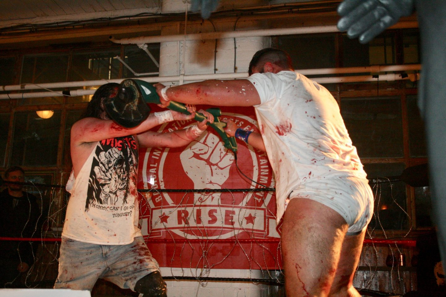 Rise wrestling death match