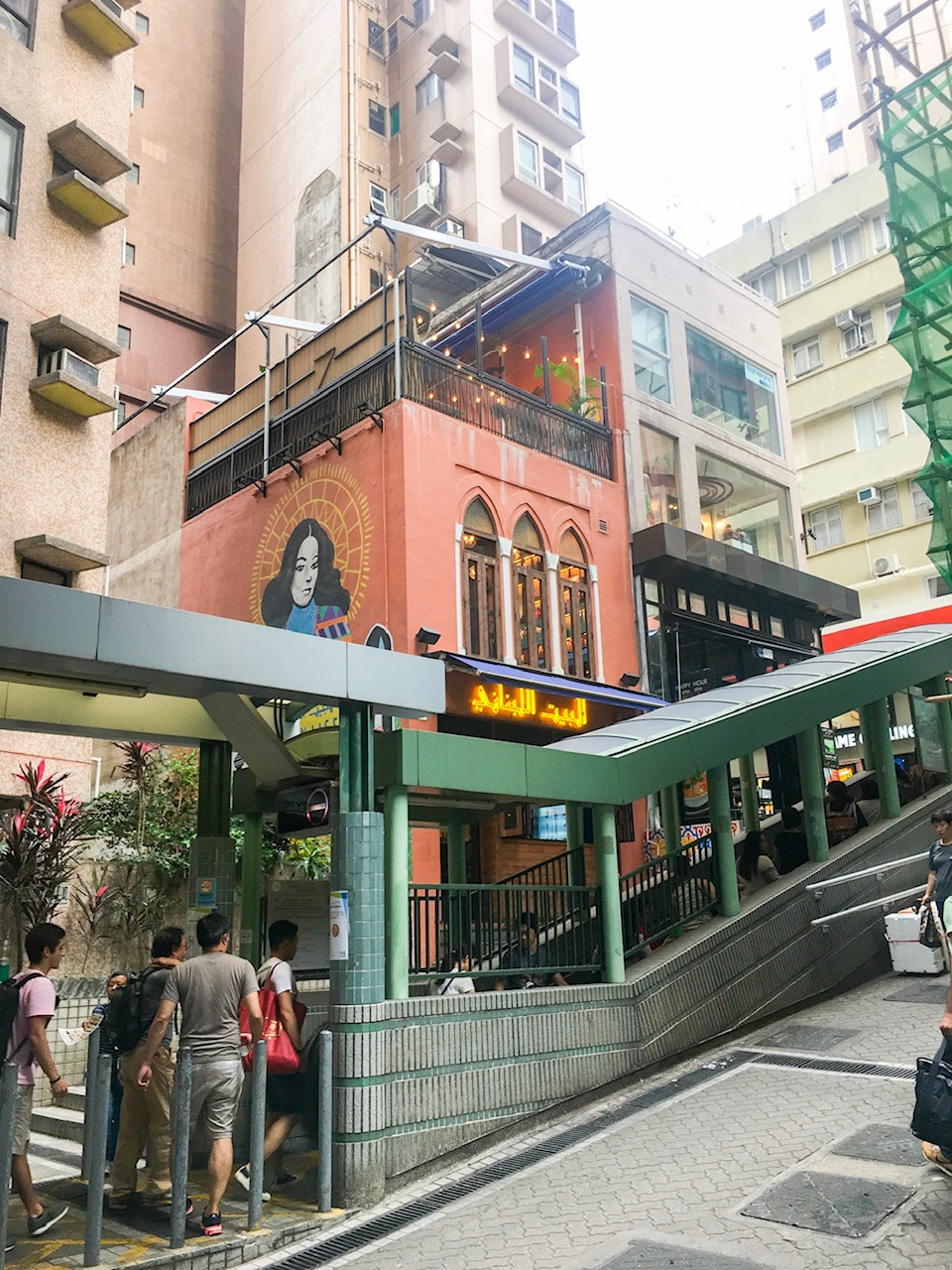 world's longest escalator, part of our hong kong itinerary