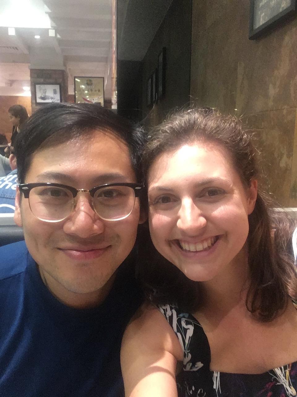 New friend in Hong Kong