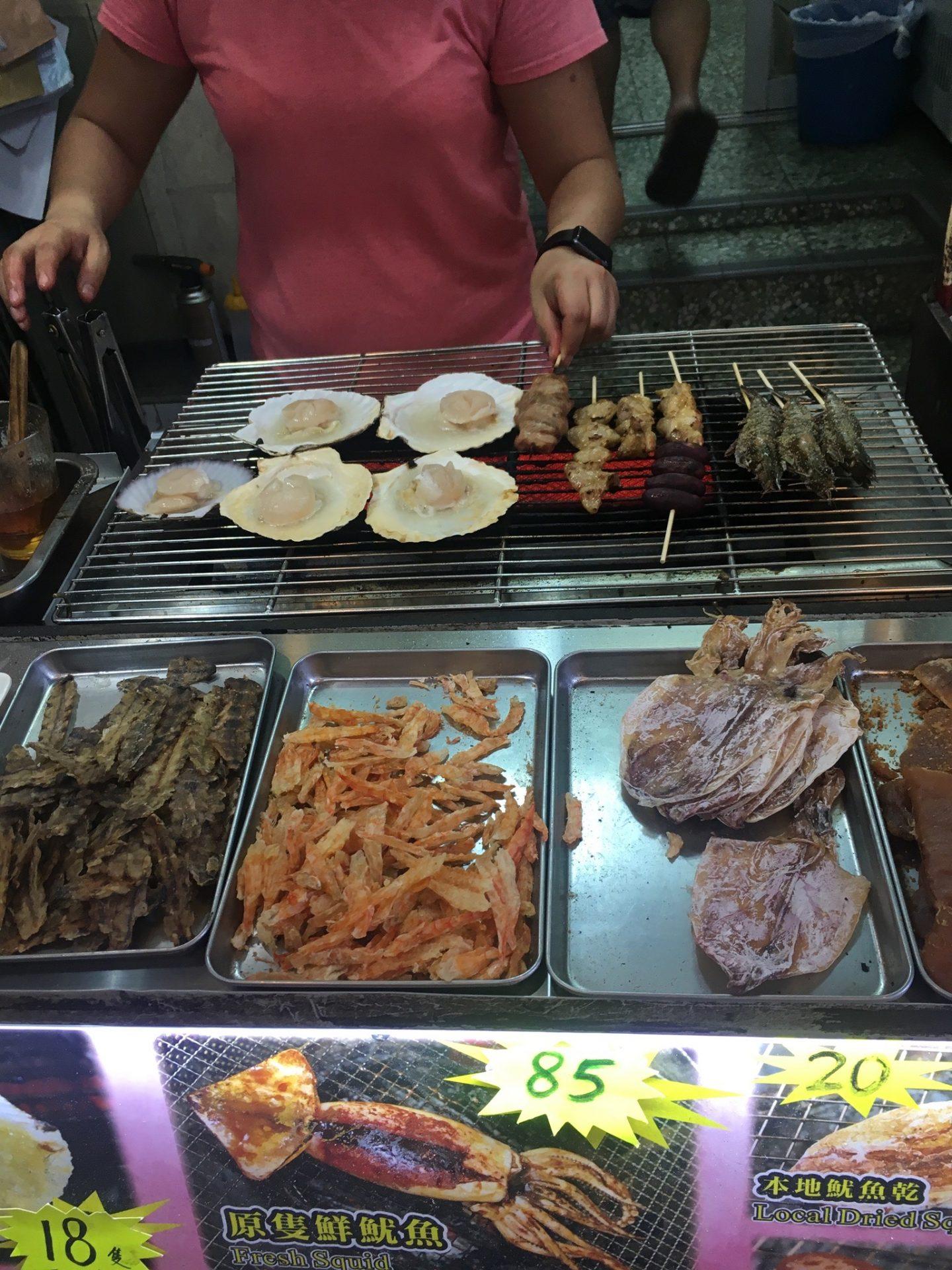 Seafood in Tai O