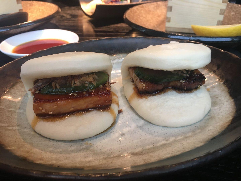 Leeds sushi: bao buns at Issho