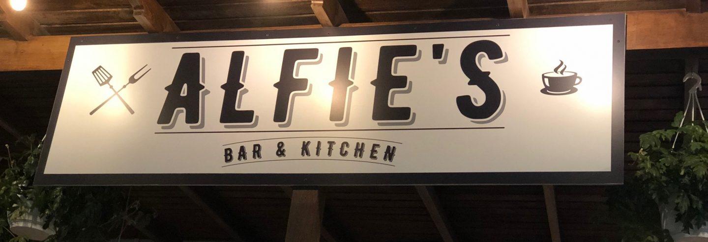 Alfie's Bar & Kitchen, one of the best restaurants in Playa Blanca