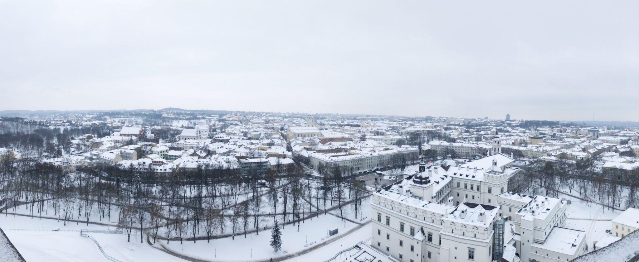 A Very Snowy Weekend In Vilnius