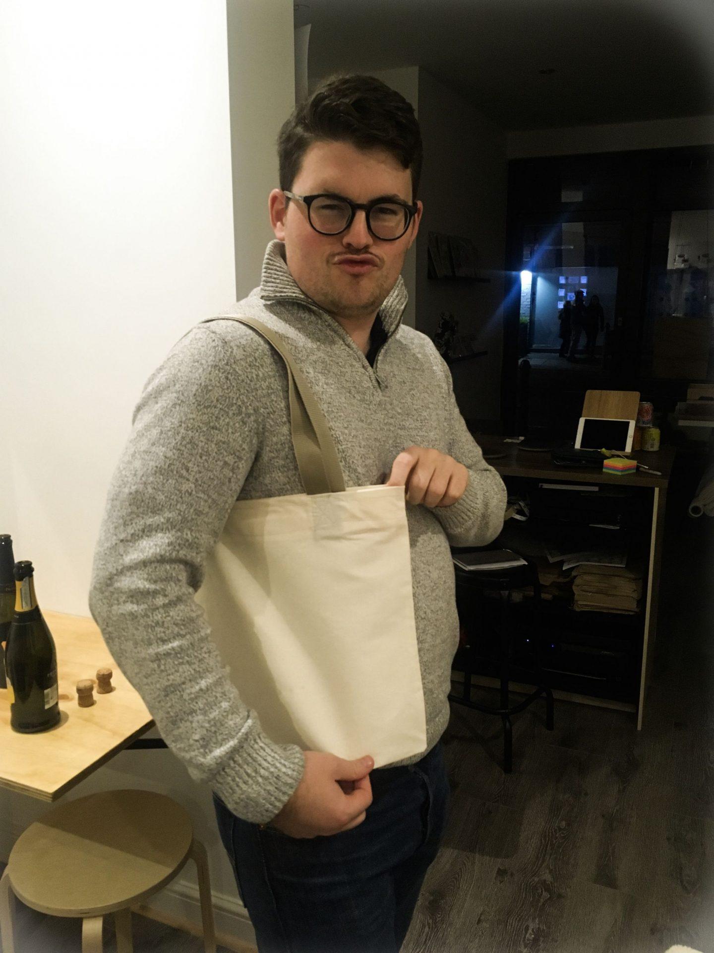 Sewing Cafe Workshop Tote Bag