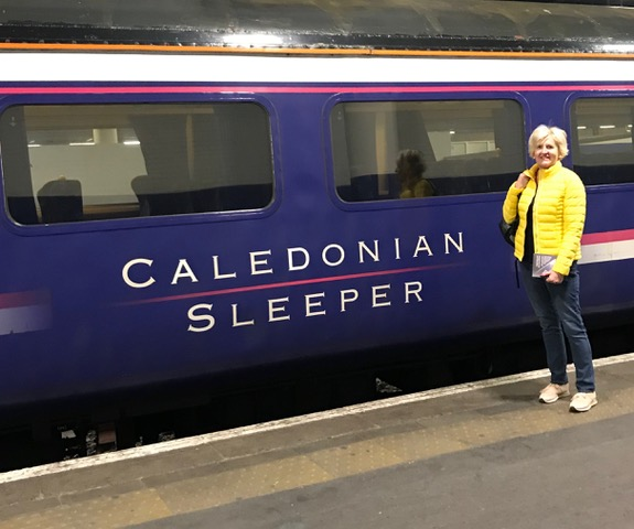 Sleeping on the Caledonian Sleeper: A Guest Post