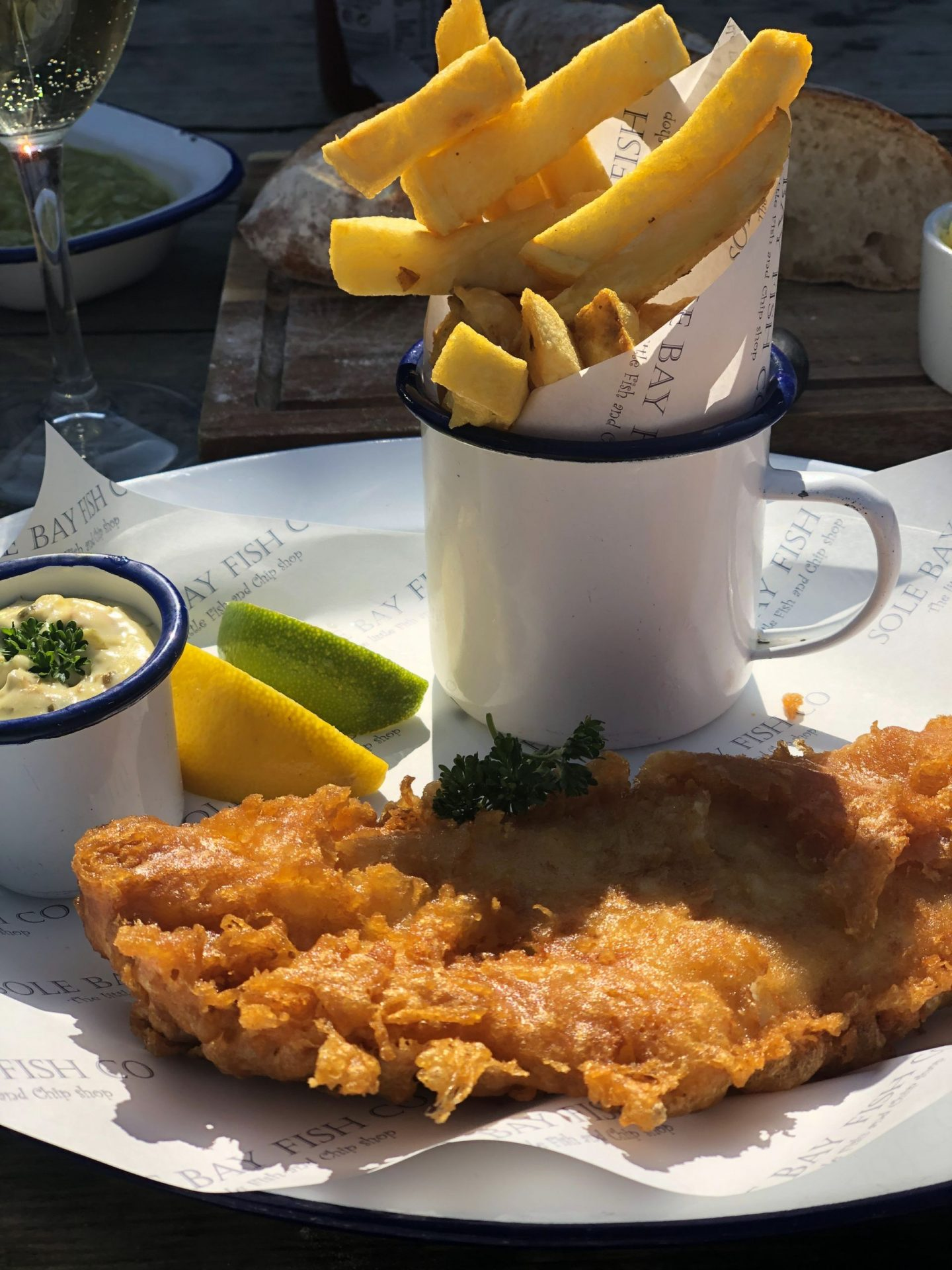 Things to do in Southwold: a plate of fish and chips