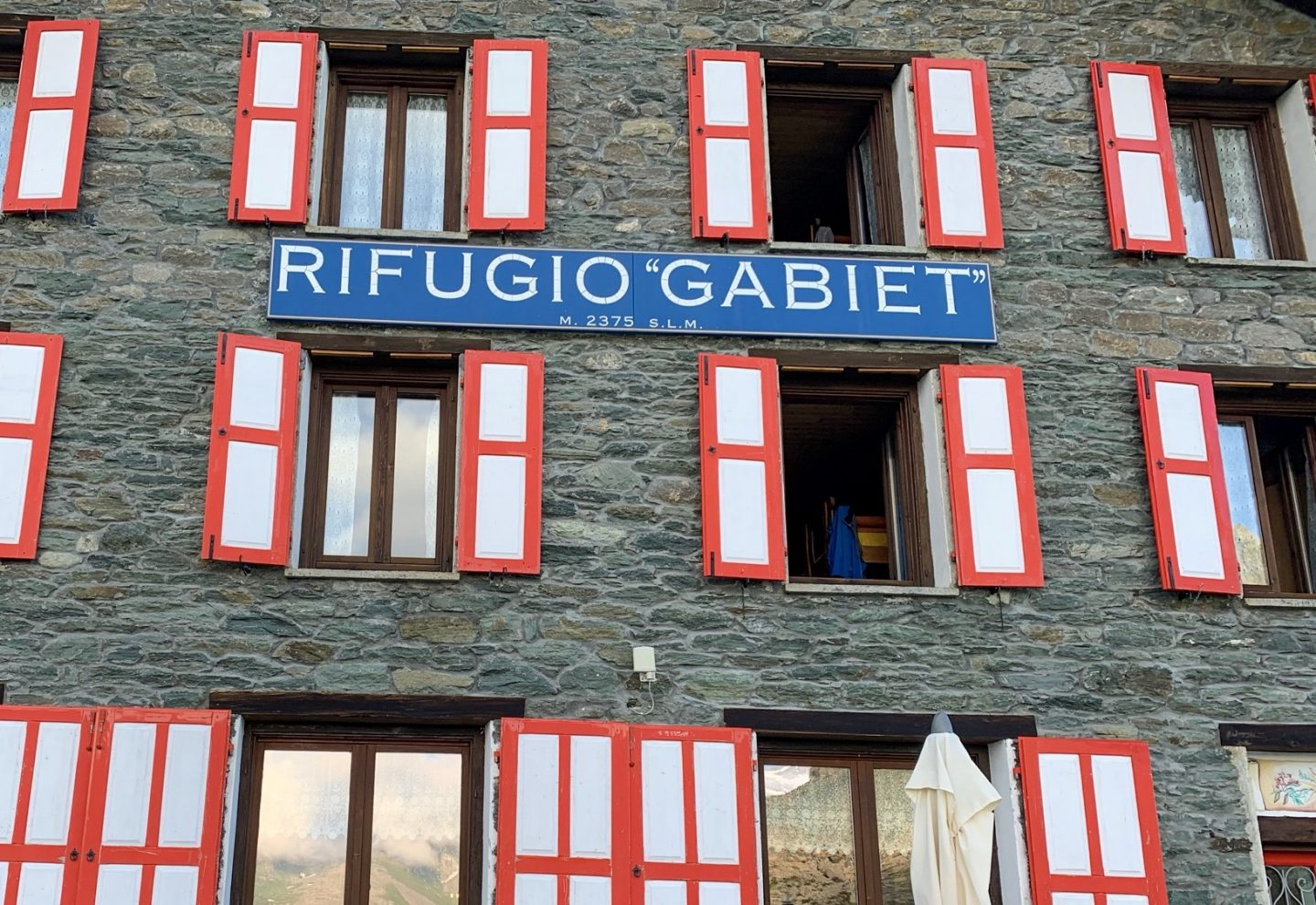 Rifugio Gabiet mountain hut