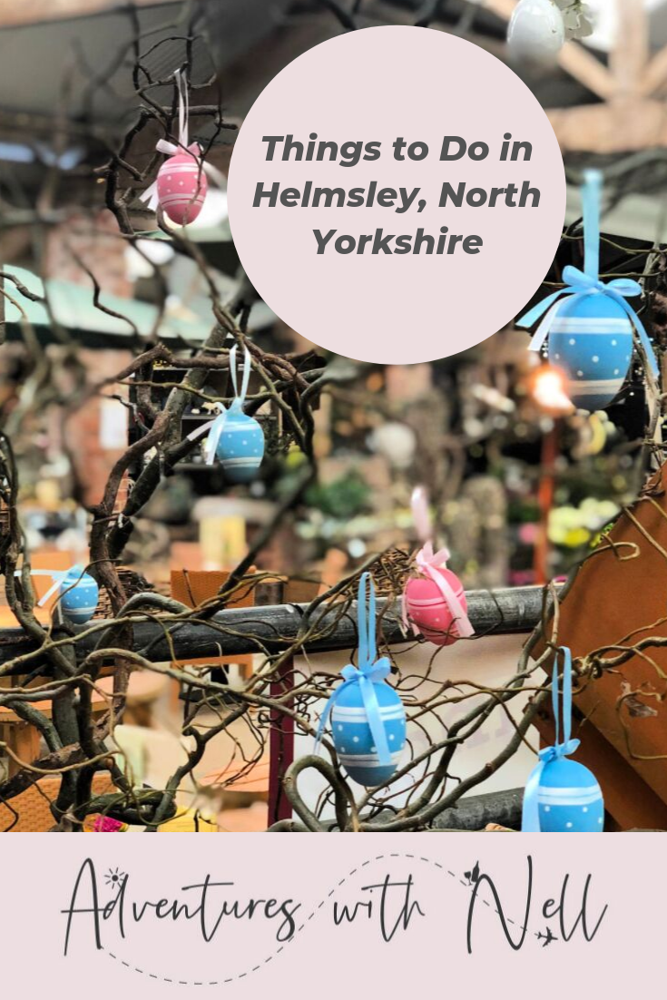 Things to do in Helmsley, North Yorkshire Pinterest Graphic