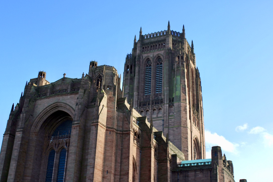 Liverpool Anglican Cathedral, on a trip with national express