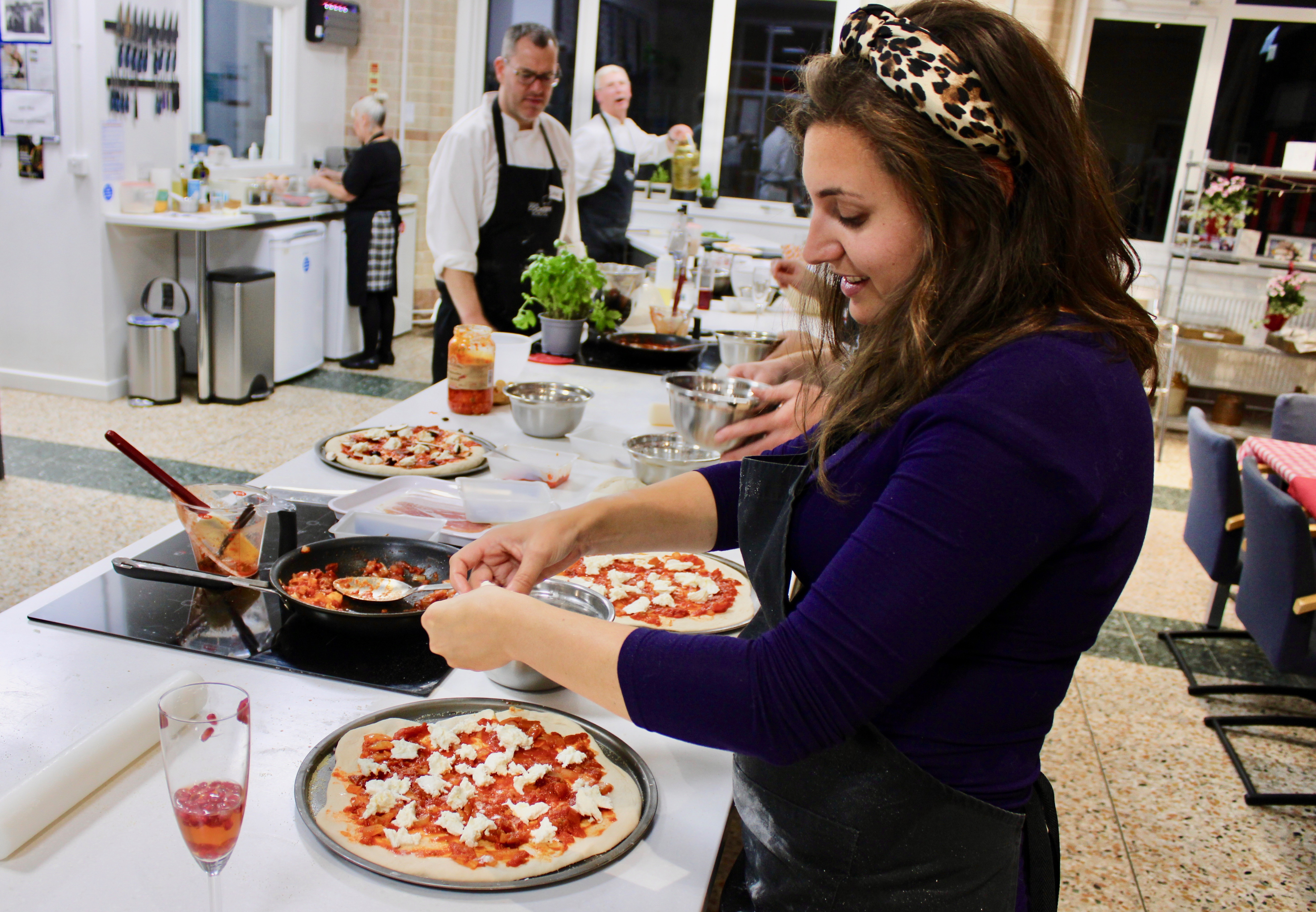 Pizza Making With Leeds Cookery School And Why They Can't be Topped
