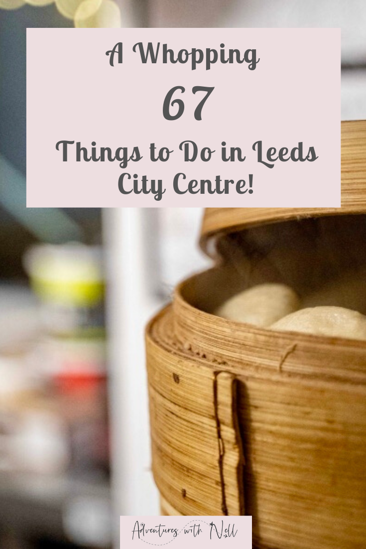 Your ultimate guide to things to do in Leeds city centre, from museums to art trails to foodie events, including free and cheap things to do, eating and drinking, walking tours and much more. UK travel, Yorkshire, destination guide, inspiration, staycation, England, Britain