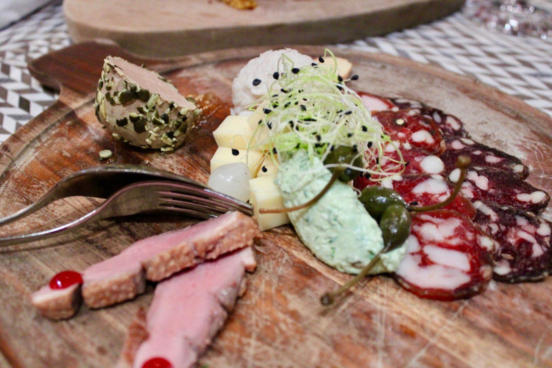 Kamnik and Velika Planina: A selection of local meats and cheeses at Gostilna Repnik restaurant in Kamnik, near to Ljubljana