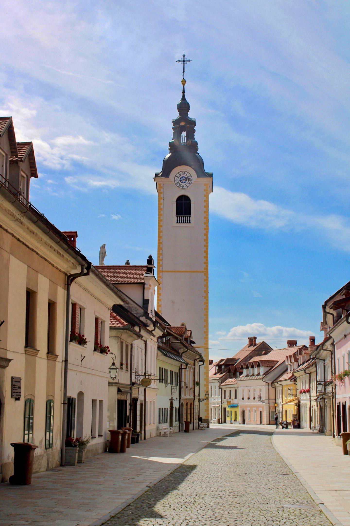 Kamnik and Velika Planina: The town of Kamnik in the Ljubljana region