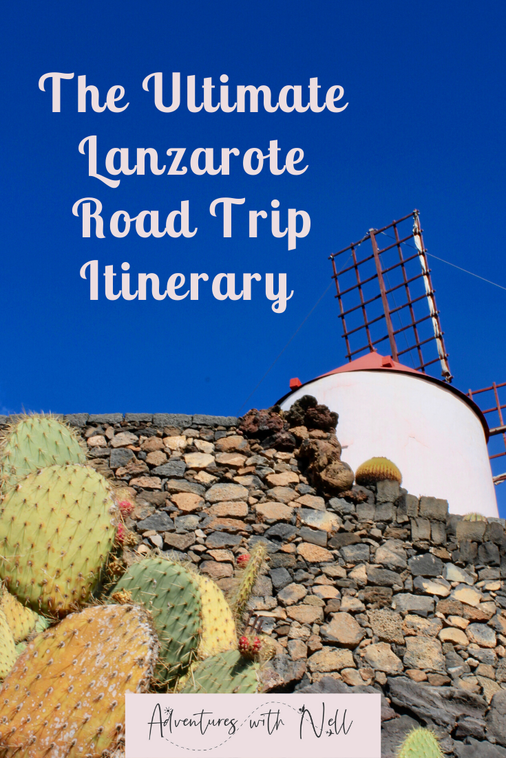 Things to do in Lanzarote, ultimate one day Lanzarote road trip. This post gives you a huge range of things to see in Lanzarote in a logical order, meaning that you can see them all in one to two days. Canary Islands, Canaries, destination guide, holiday inspiration, travel ideas, budget travel, family holiday.