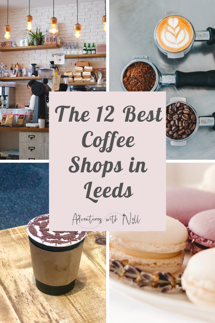 A guide to the best coffee shops and cafes in Leeds city centre, including those that do a great brunch! Places to eat in Leeds, where to eat in Leeds, Yorkshire, UK travel, city guide, destination guide, England