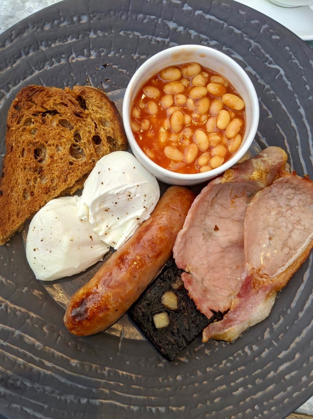 The Pheasant Hotel Harome: Full English Breakfast