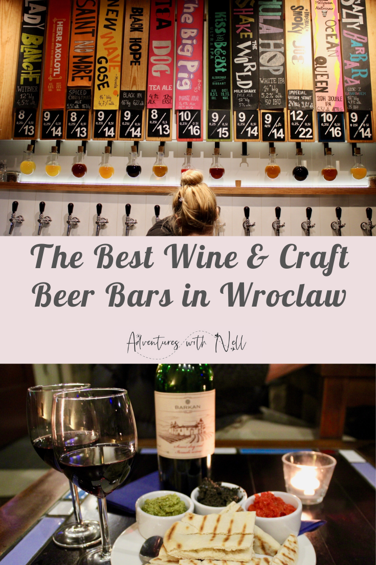 Fancy a drink in Wroclaw? Here's your guide to the best bars and pubs in Wroclaw for craft beer, wine and cocktails. Things to do in Wroclaw, destination guide, city break, weekend, short break, budget travel, travel inspiration, Eastern Europe, Poland, nightlife