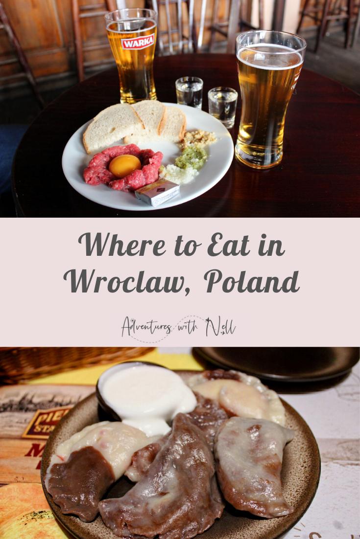 the best restaurants in wroclaw pinterest graphic