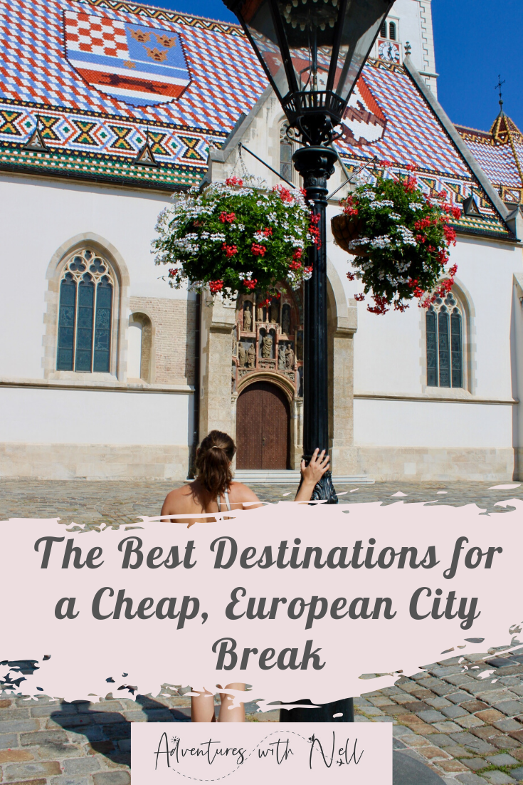 Looking for inspiration for your next trip? Here my top travel destinations for a cheap, european city break for a long weekend. Includes beautiful short breaks such as Sofia, Krakow, Ljubljana, Belgrade and Zagreb - all perfect for those travelling on a budget with links to destination guides.