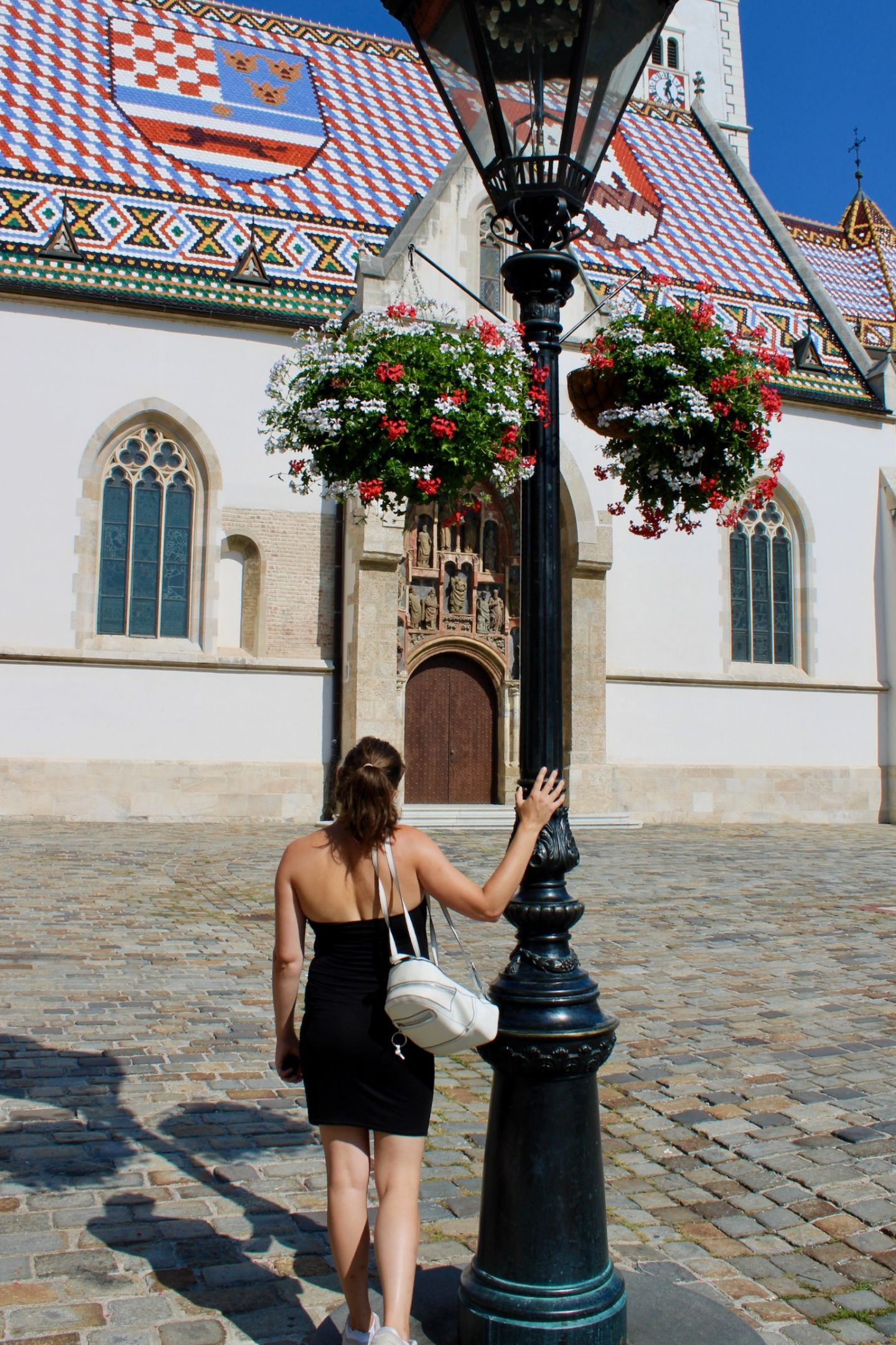 cheap european city break - Nell in the Upper Town of Zagreb