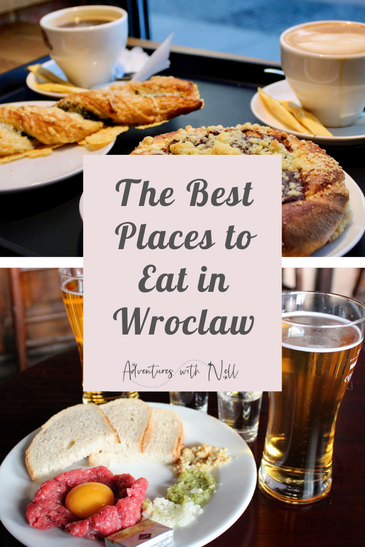 Looking for the best places to eat in Wroclaw, Poland? Here are the best restaurants and cafés in this Polish city and information on where to eat the best pierogi. Eastern Europe, city break, destination guide, weekend away, short break, budget travel, foodie travel, travel inspiration, European holiday destinations.