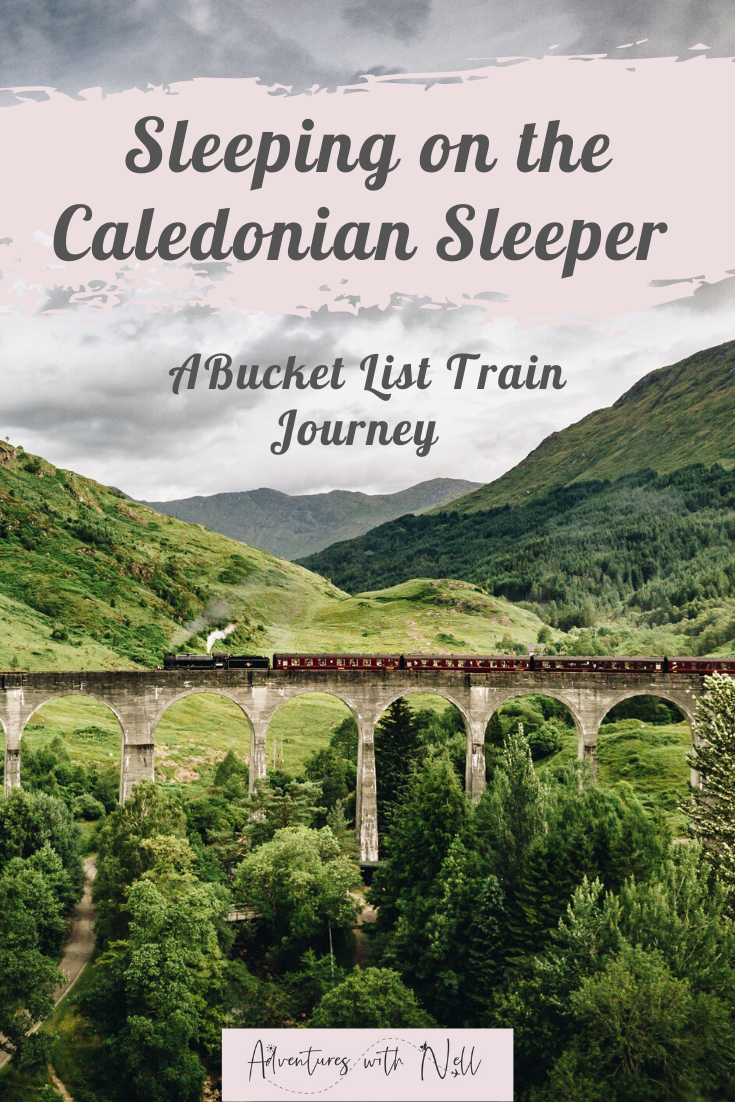 What it's like to take the Caledonian Sleeper overnight train from London to Scotland, and why it should be on your bucket list of train journeys. Beautiful train journeys, Scottish Highlands, train travel, UK travel inspiration.