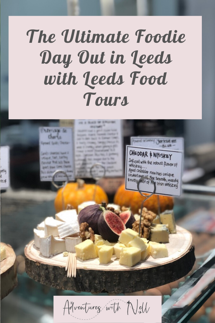 Looking for foodie things to do in Leeds city centre? Take a tour with Leeds Food Tours and discover the best local independent restaurants, and support small businesses. Click through to read what to expect. Where to eat, places to eat, pubs, street food, Yorkshire, UK travel, inspiration, city break, weekend away, cities in England.