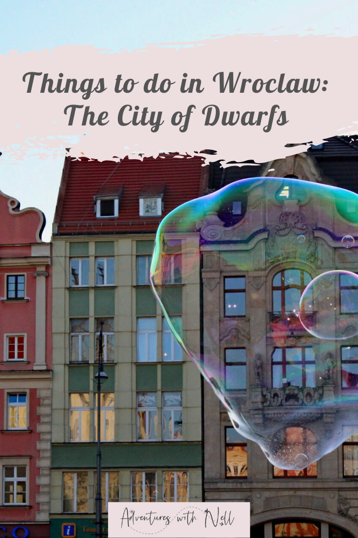 Top things to do in Wroclaw Poland when visiting for the weekend, such as dwarf hunting and pierogi eating! Eastern europe travel, travel inspiration, old town, budget travel, cheap european city break, destination guide, wroclaw itinerary.