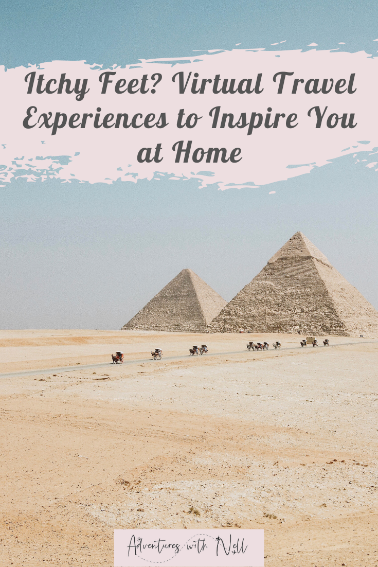 Virtual travel experiences for the most adventurous armchair travellers! From panda cams to museums to tours, and the best ways to explore entire countries virtually from home. Around the world travel inspiration for when destinations guides won't help you during the coronavirus pandemic and you're looking for things to do at home and lockdown activities