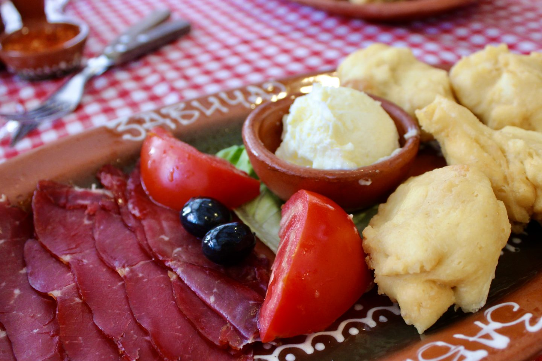 visit belgrade - traditional serbian breakfast