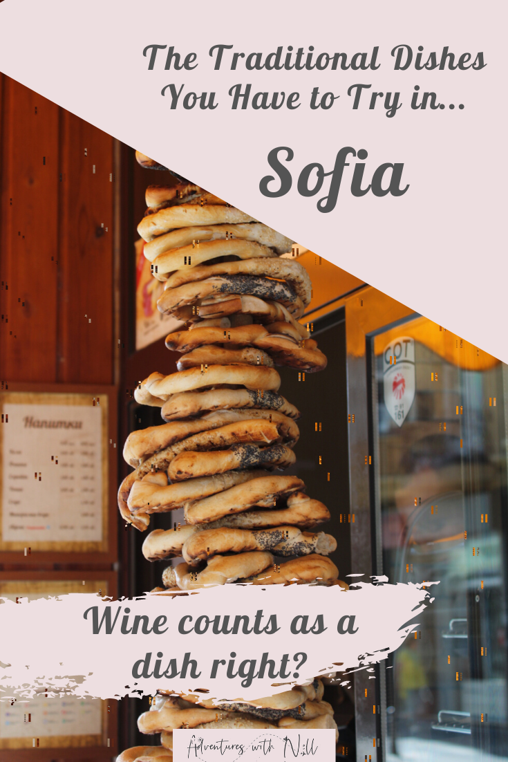 Planning what to eat in Sofia? This guide tells you all the traditional Bulgarian dishes worth trying in Sofia, as well as the best places to eat in Sofia / where to eat in Sofia / best traditional restaurants in Sofia. Foodie travel, food tours, Balkan travel, backpacking, budget travel, Europe