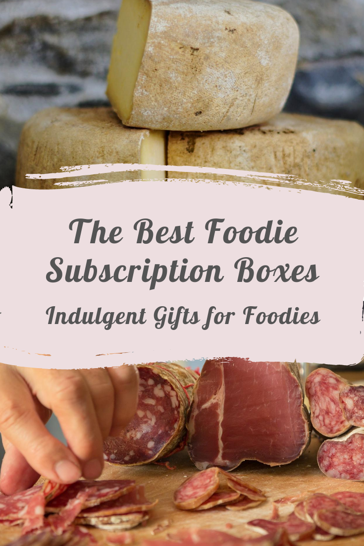 Looking for the best foodie subscription boxes to give as a gift? This guide covers everything from gelato, cheese, meat, charcuterie, snacks, hot sauce and more. Foodie gifts, subscription gifts, christmas present ideas, gift ideas, unusual gifts for foodies.