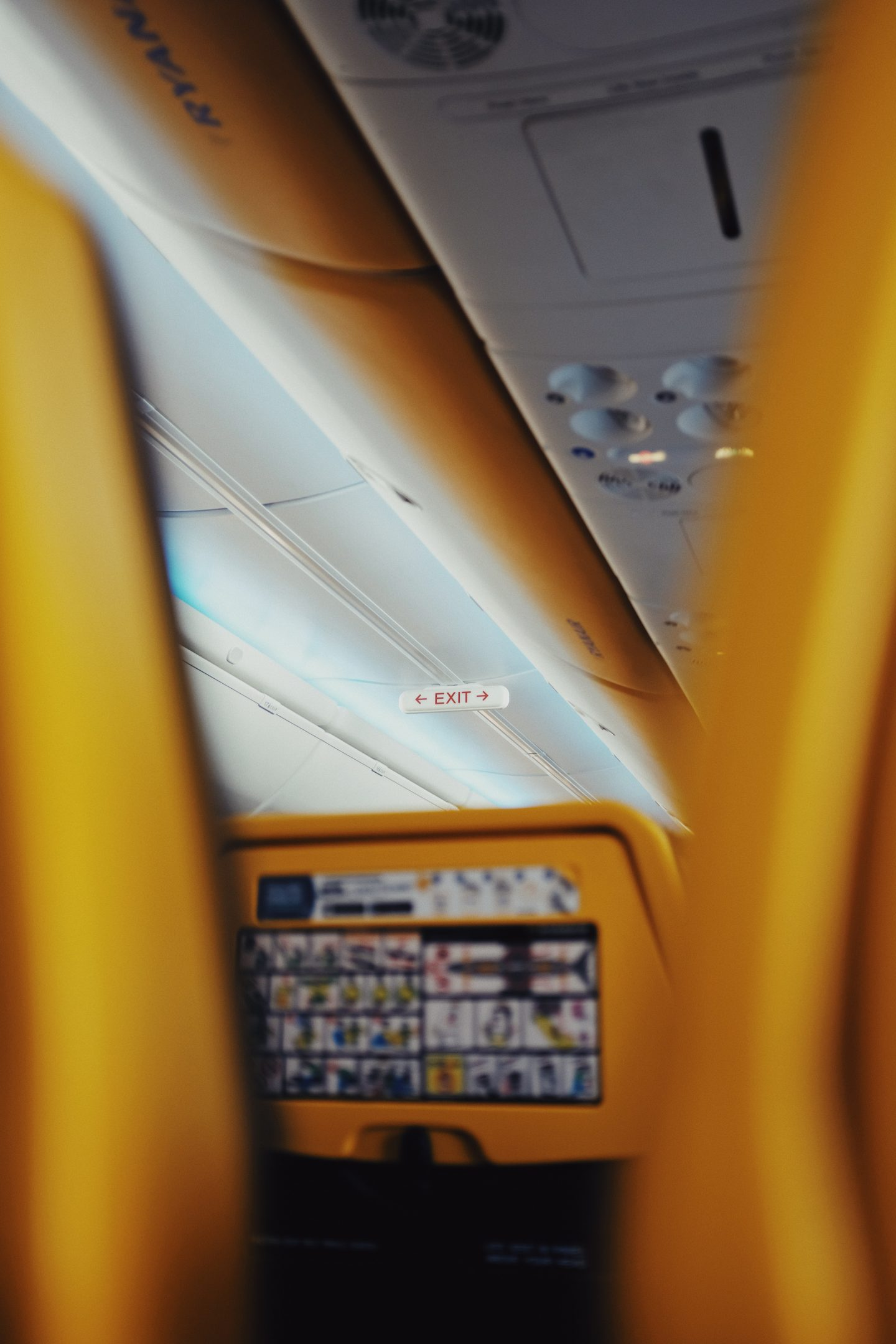 what it's like to travel abroad during the covid-19 pandemic: inside a Ryanair plane