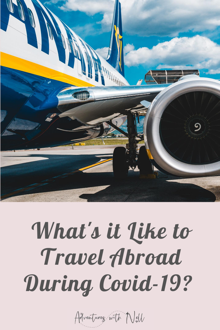 What's it like to travel abroad during covid-19? Here's my experience of coronavirus international travel to Lanzarote with Ryanair. Flying in lockdown, is it safe to travel in a pandemic?